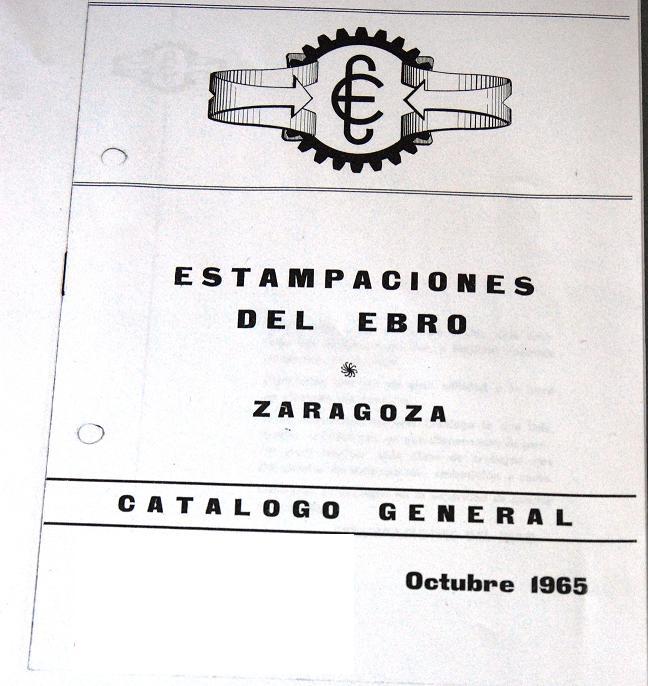 Catálogo de Herrajes estebro en 1965
