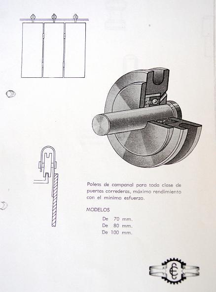 Poleas estebro en 1965
