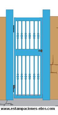 herrajes puerta: