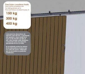 herrajes puertas correderas madera