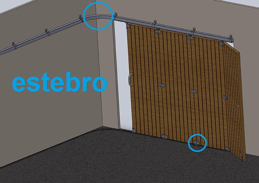 Puertas correderas herrajes puertas for Puertas corredizas metalicas